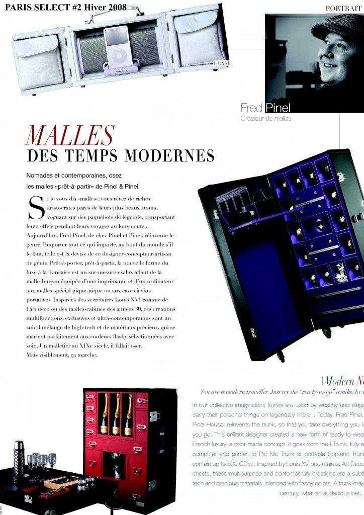 Malles des temps modernes dans Presse web et magazine select11